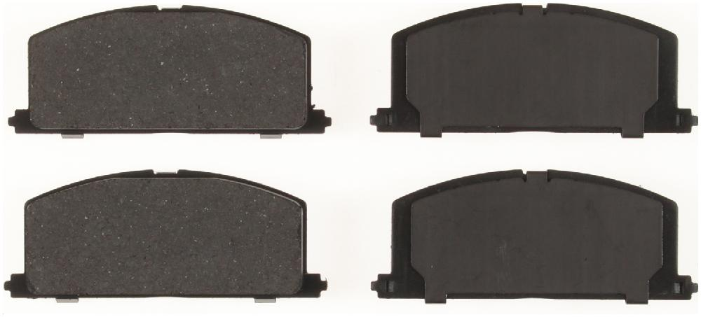 BENDIX GLOBAL - Global Semi-Metallic Disc Brake Pad - BXG MRD242