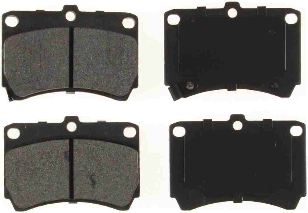 BENDIX GLOBAL - Global Semi-Metallic Disc Brake Pad - BXG MRD466