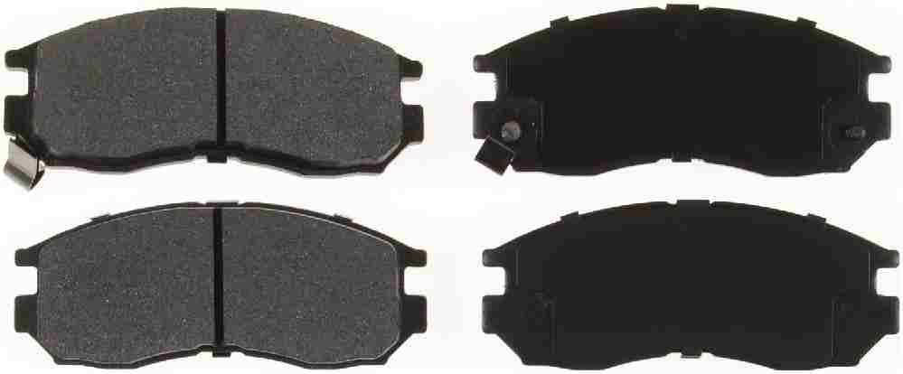 BENDIX GLOBAL - Global Semi-Metallic Disc Brake Pad (Front) - BXG MRD484