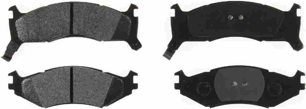 BENDIX GLOBAL - Global Semi-Metallic Disc Brake Pad - BXG MRD521