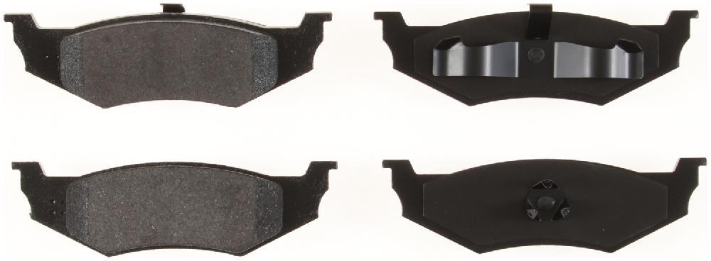 BENDIX GLOBAL - Global Semi-Metallic Disc Brake Pad - BXG MRD641