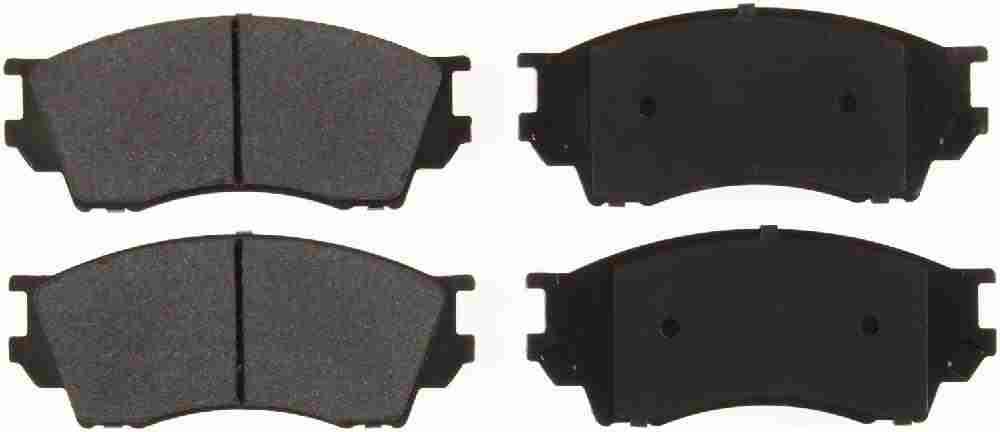 BENDIX GLOBAL - Global Semi-Metallic Disc Brake Pad - BXG MRD643