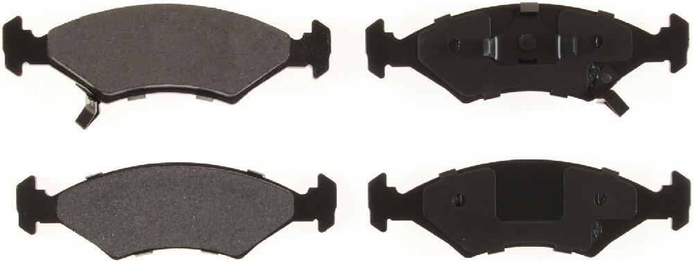 BENDIX GLOBAL - Global Semi-Metallic Disc Brake Pad - BXG MRD649