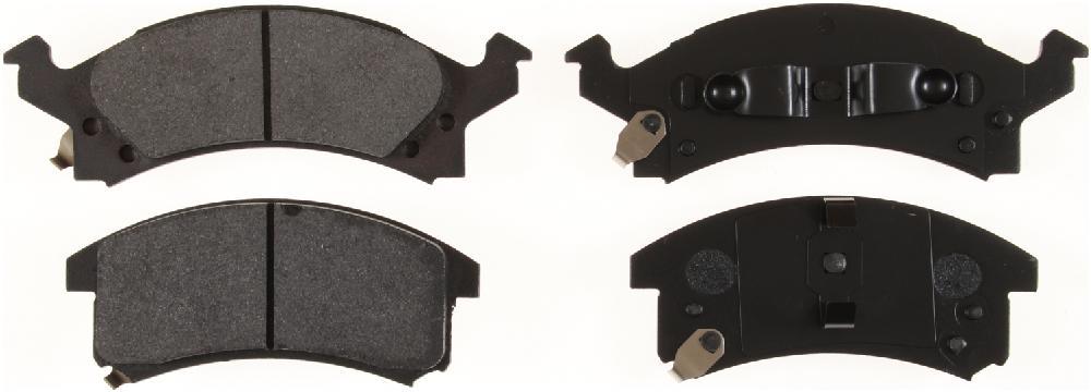 BENDIX GLOBAL - Global Semi-Metallic Disc Brake Pad - BXG MRD673