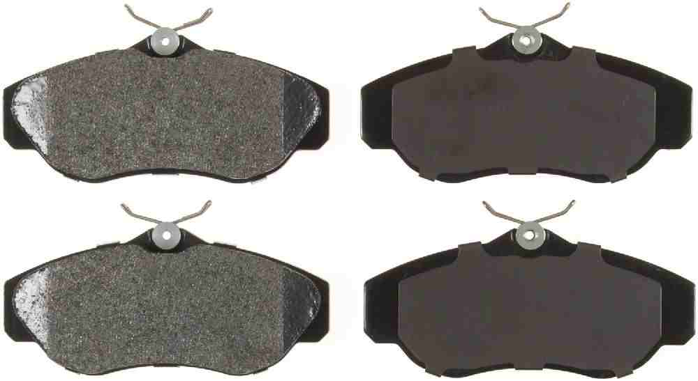 BENDIX GLOBAL - Global Semi-Metallic Disc Brake Pad (Front) - BXG MRD676