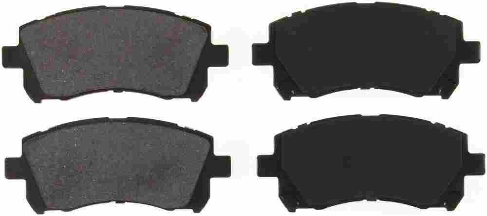 BENDIX GLOBAL - Global Semi-Metallic Disc Brake Pad - BXG MRD721