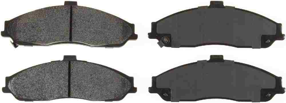 BENDIX GLOBAL - Global Semi-Metallic Disc Brake Pad - BXG MRD731