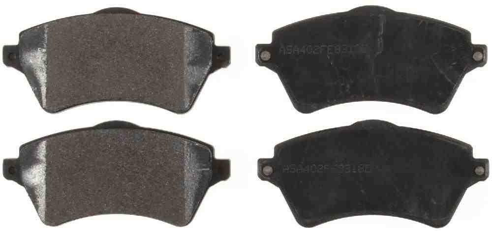 BENDIX GLOBAL - Global Semi-Metallic Disc Brake Pad - BXG MRD926