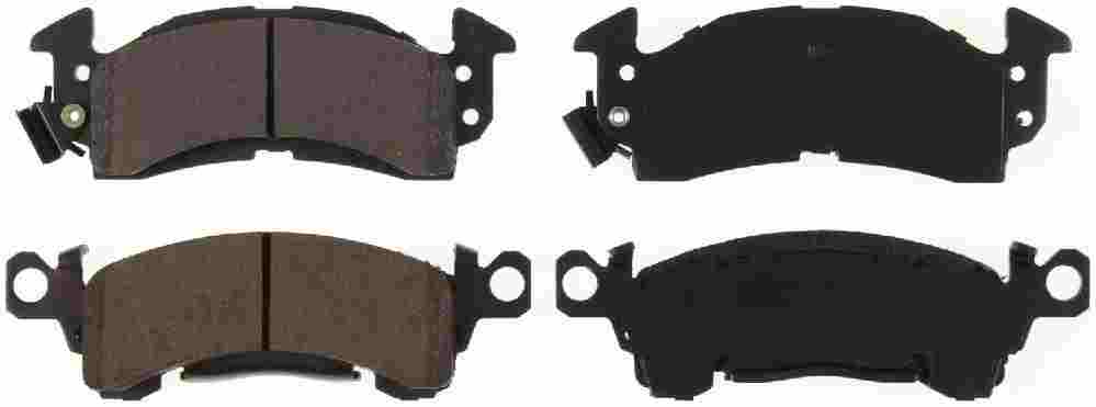 BENDIX GLOBAL - Global Ceramic Disc Brake Pad - BXG RD52S