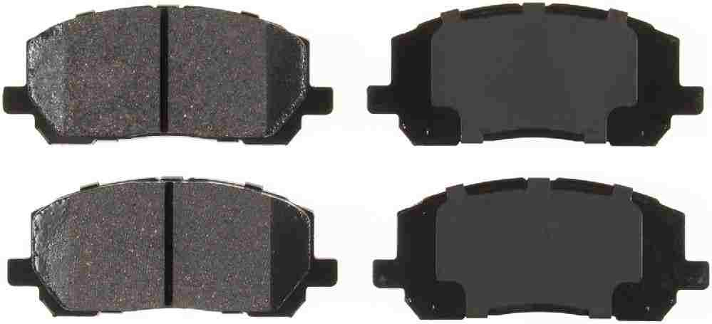 BENDIX GLOBAL - Global Ceramic Disc Brake Pad (Front) - BXG RD884