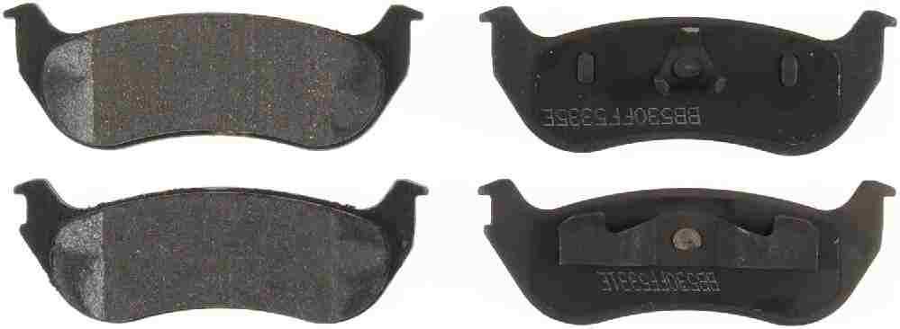 BENDIX GLOBAL - Global Ceramic Disc Brake Pad - BXG RD964