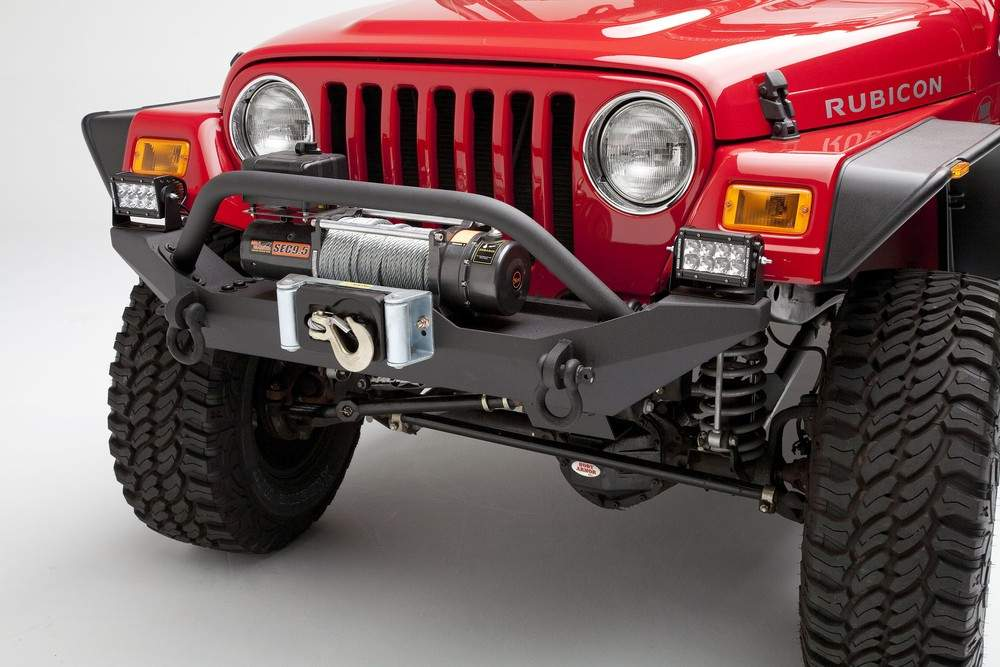 BODY ARMOR - Formed Front Bumper for TJ and YJ Jeep Wrangler - BYA TJ-19531