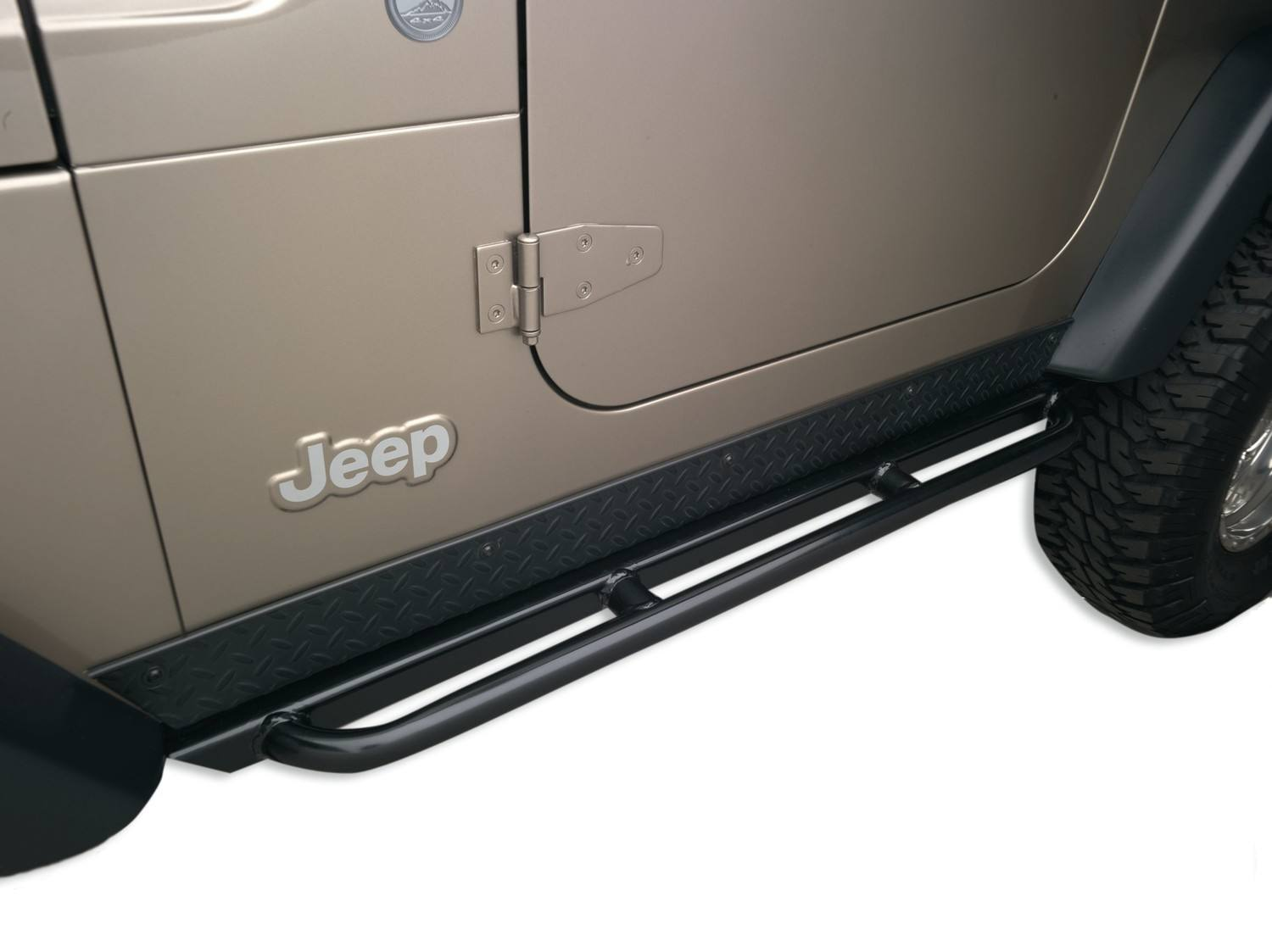 BODY ARMOR - Jeep TJ - Rockcrawler Side Guards - BYA TJ-4121