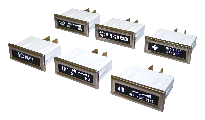 CROWN AUTOMOTIVE SALES CO. - Dashboard Lamp Kit - CAJ 5752813K
