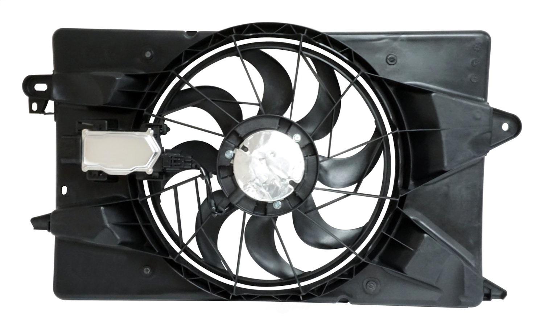 CROWN AUTOMOTIVE SALES CO. - Cooling Fan Module - CAJ 68197298AB