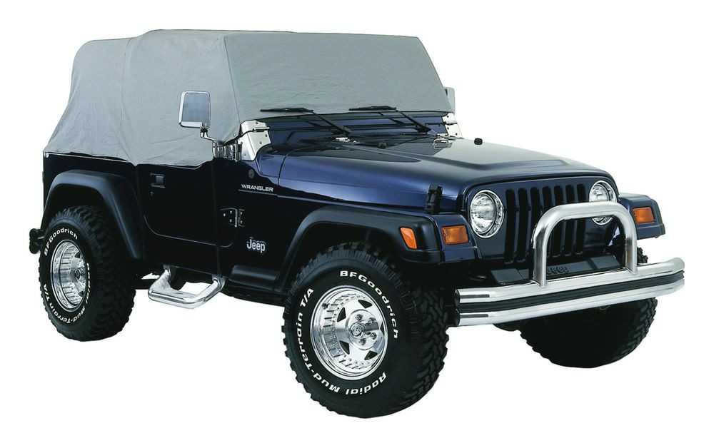 CROWN AUTOMOTIVE SALES CO. - Car Cover - CAJ CC10509