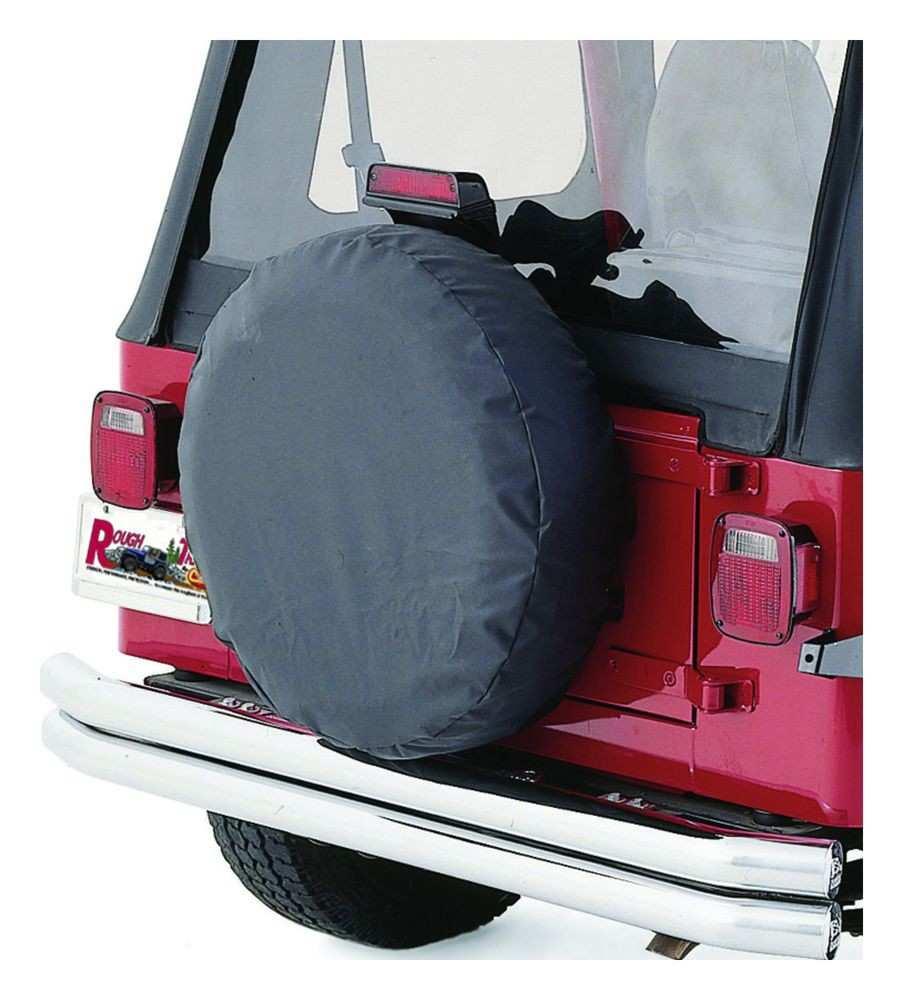 CROWN AUTOMOTIVE SALES CO. - Spare Tire Cover - CAJ TC333537