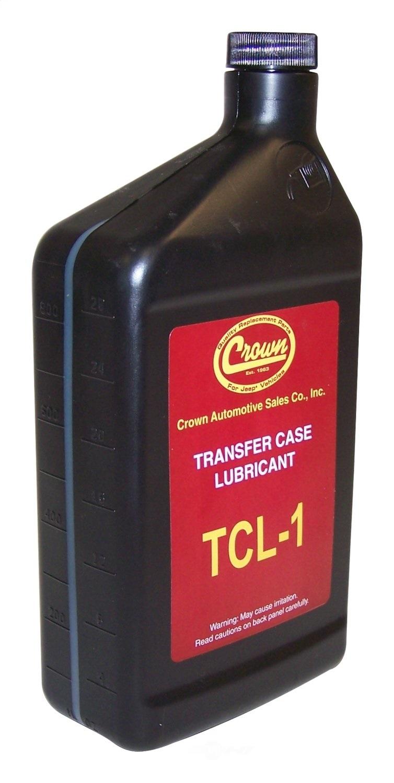 CROWN AUTOMOTIVE SALES CO. - Transfer Case Fluid - CAJ TCL1