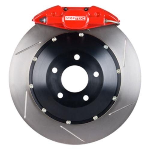 STOPTECH BIG BRAKE KITS - Red Caliper / Slotted Rotor (Rear) - CBK 83.137.002G.71