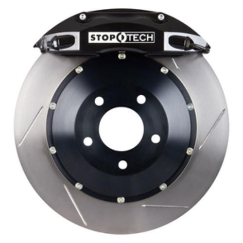 STOPTECH BIG BRAKE KITS - Black Caliper / Slotted Rotor (Front) - CBK 83.183.4600.51