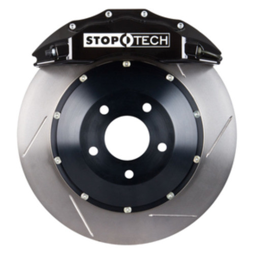 STOPTECH BIG BRAKE KITS - Black Caliper / Slotted Disc (Front) - CBK 83.188.6D00.51
