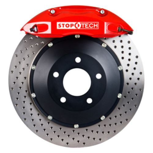 STOPTECH BIG BRAKE KITS - Red Caliper / Drilled Disc (Front) - CBK 83.648.4300.72