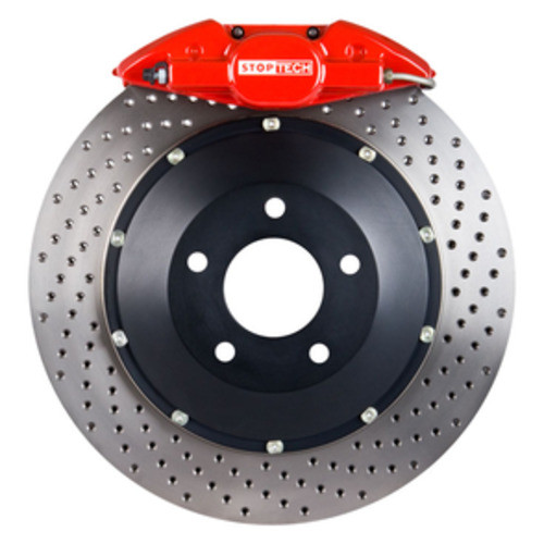 STOPTECH BIG BRAKE KITS - Red Caliper / Drilled Disc (Rear) - CBK 83.836.0023.72