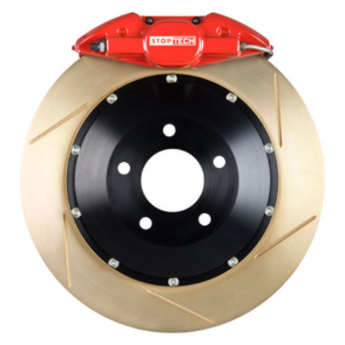 STOPTECH BIG BRAKE KITS - Red Caliper / Slotted Coated Disc (Rear) - CBK 83.836.0023.73