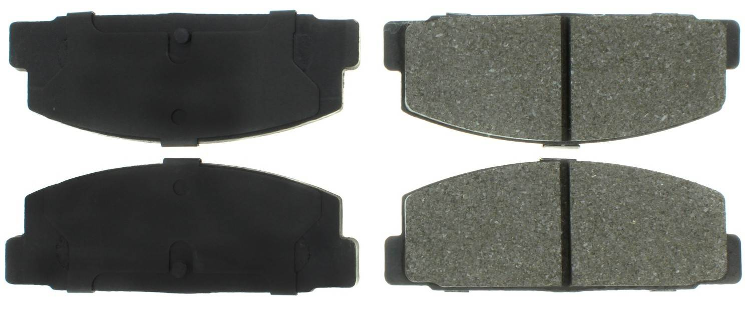 CENTRIC PARTS - C-TEK Standard Metallic Brake Pad (Rear) - CEC 102.01440