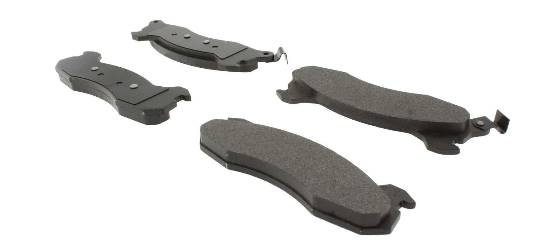 CENTRIC PARTS - C-TEK Standard Metallic Brake Pad (Rear) - CEC 102.02040