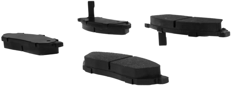 CENTRIC PARTS - C-TEK Standard Metallic Brake Pad (Front) - CEC 102.02810