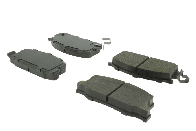 CENTRIC PARTS - C-TEK Standard Metallic Brake Pad (Front) - CEC 102.02820