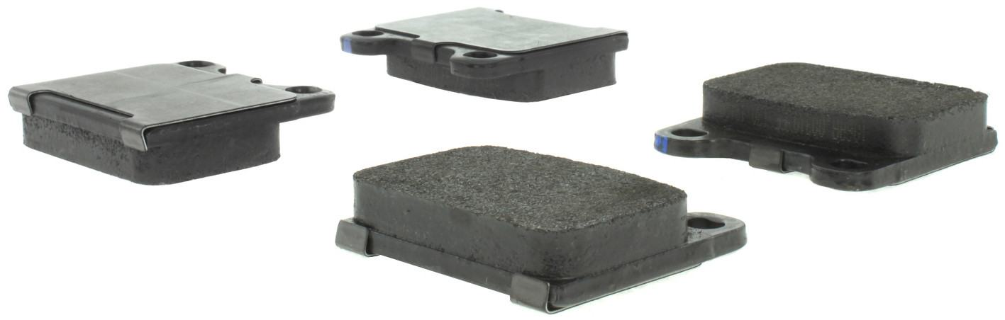 CENTRIC PARTS - Posi-Quiet Metallic Disc Brake Pad w/Shims-Preferred (Front) - CEC 104.00310