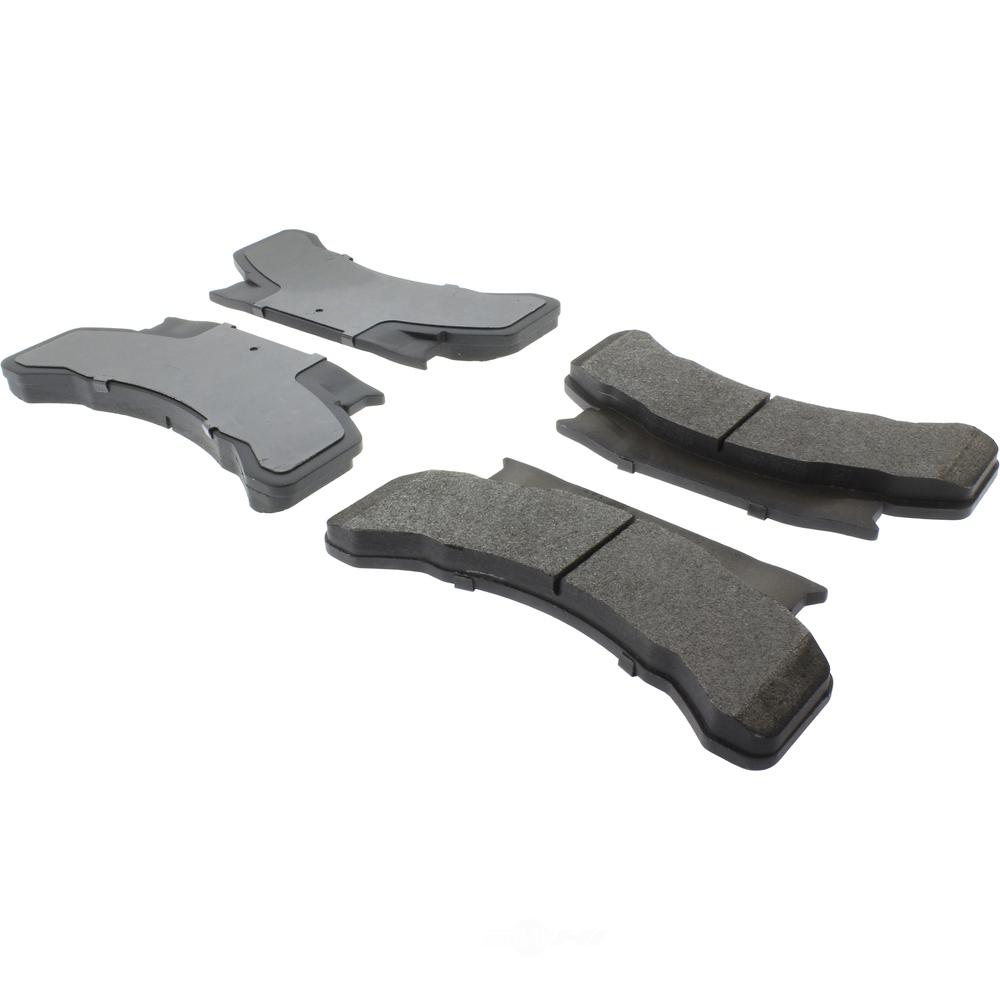 CENTRIC PARTS - Posi-Quiet Metallic Disc Brake Pad w/Shims & Hardware - CEC 104.02240