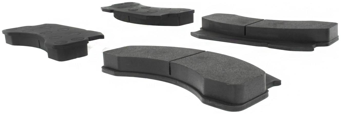 CENTRIC PARTS - Posi-Quiet Metallic Disc Brake Pad w/Shims - CEC 104.02360