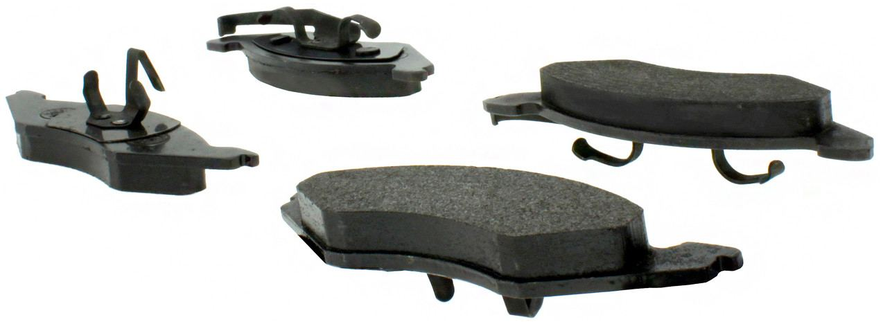 CENTRIC PARTS - Posi-Quiet Metallic Disc Brake Pad w/Shims & Hardware-Preferred (Front) - CEC 104.02570