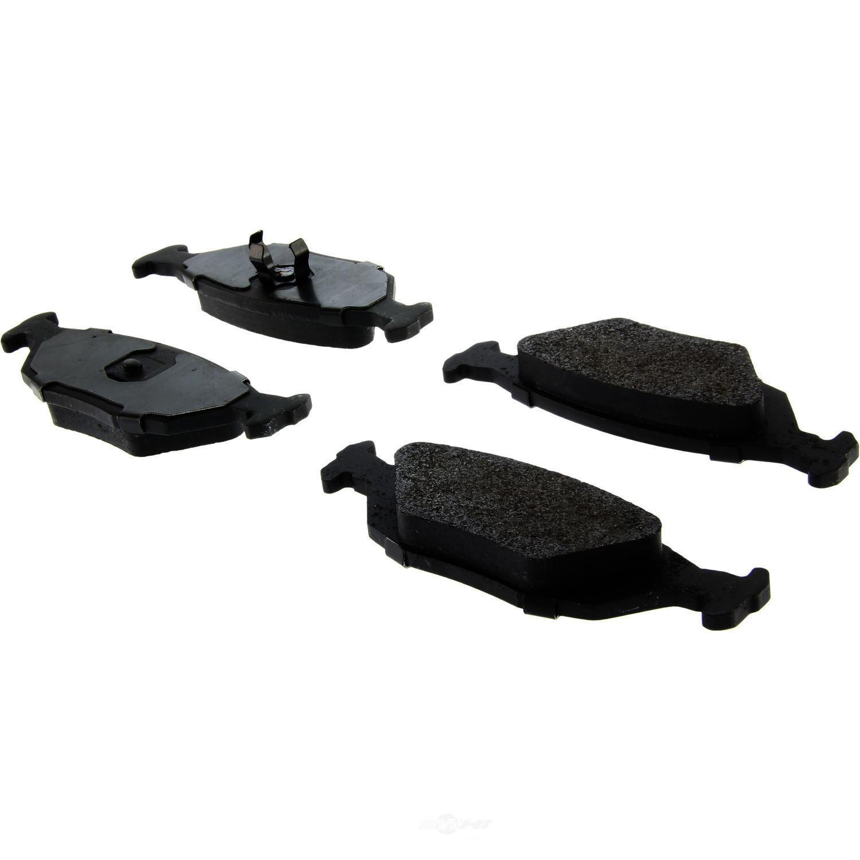 CENTRIC PARTS - Posi-Quiet Metallic Disc Brake Pad w/Shims & Hardware-Preferred (Rear) - CEC 104.03220