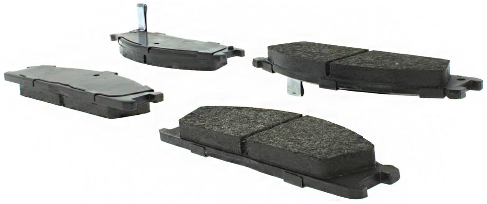 CENTRIC PARTS - Posi-Quiet Metallic Disc Brake Pad w/Shims & Hardware-Preferred (Front) - CEC 104.03330