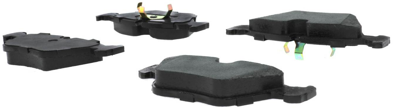 CENTRIC PARTS - Posi-Quiet Metallic Disc Brake Pad w/Shims & Hardware-Preferred - CEC 104.03940