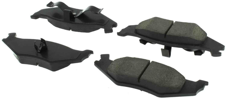 CENTRIC PARTS - Centric Posi-Quiet Semi-Metallic Disc Brake Pad Sets (Rear) - CEC 104.05120