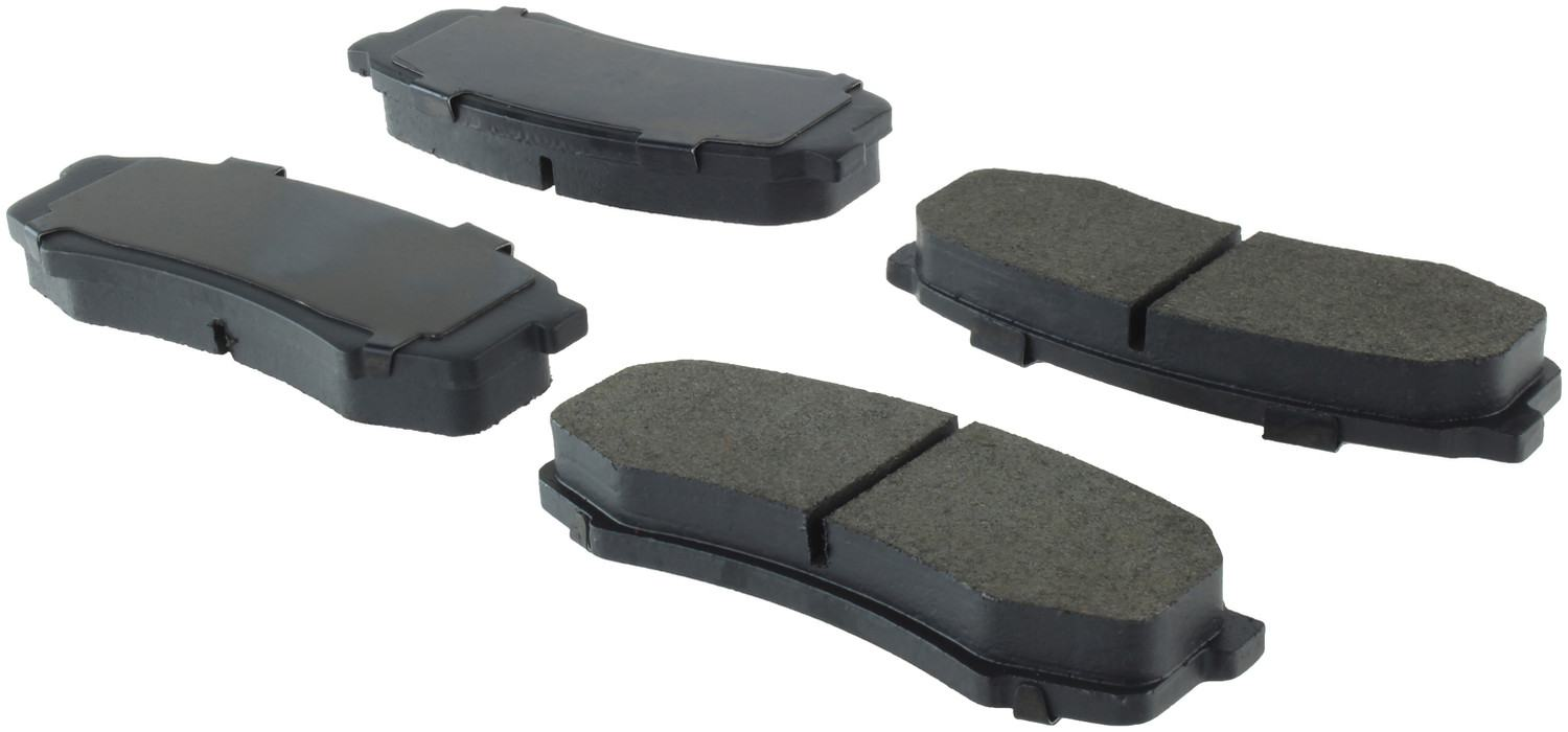 CENTRIC PARTS - Posi-Quiet Metallic Disc Brake Pad w/Shims & Hardware (Rear) - CEC 104.06060