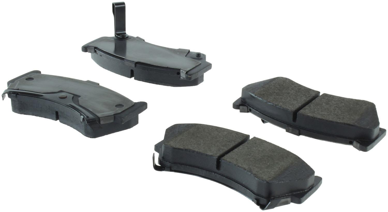 CENTRIC PARTS - Centric Posi-Quiet Semi-Metallic Disc Brake Pad Sets (Front) - CEC 104.06680