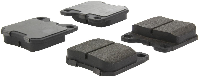 CENTRIC PARTS - Centric Posi-Quiet Semi-Metallic Disc Brake Pad Sets (Rear) - CEC 104.07091