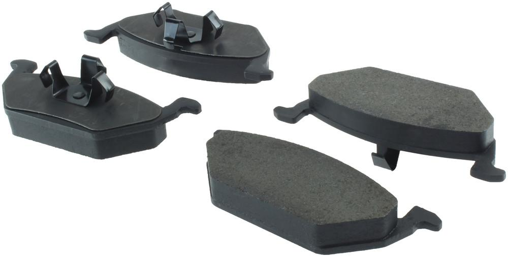 CENTRIC PARTS - Posi-Quiet Metallic Disc Brake Pad w/Shims & Hardware-Preferred (Front) - CEC 104.07680
