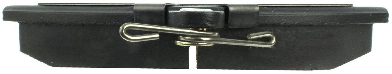 CENTRIC PARTS - Posi-Quiet Metallic Disc Brake Pad w/Shims-Preferred (Front) - CEC 104.07800
