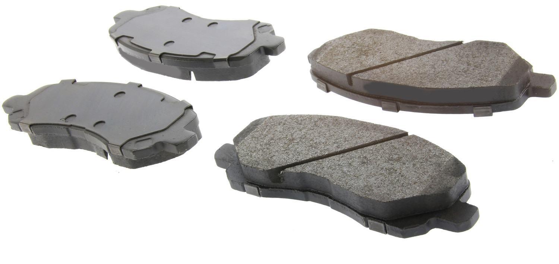 CENTRIC PARTS - Centric Posi-Quiet Semi-Metallic Disc Brake Pad Sets (Front) - CEC 104.08660