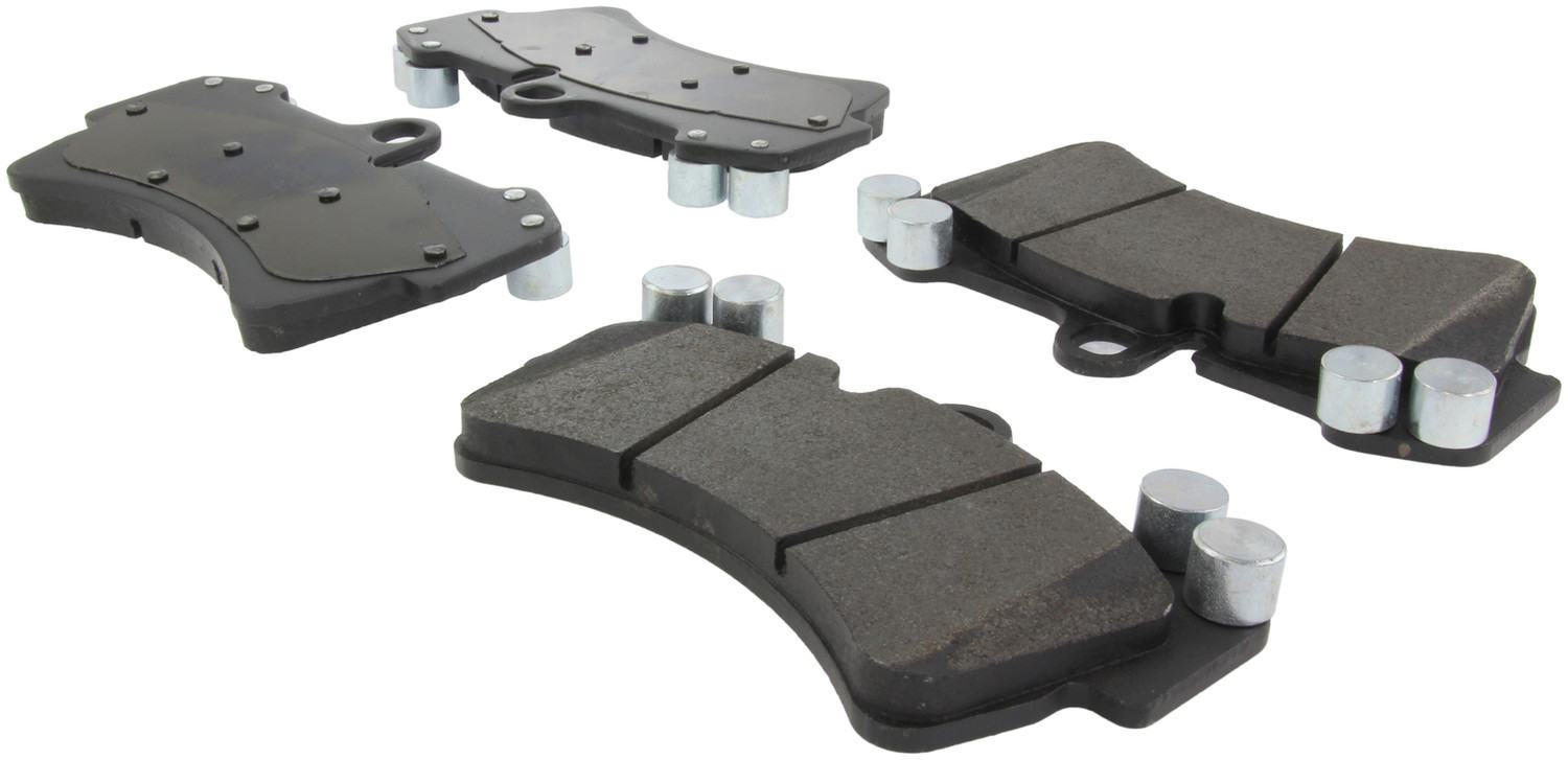CENTRIC PARTS - Posi-Quiet Metallic Disc Brake Pad w/Shims & Hardware-Preferred (Front) - CEC 104.09770