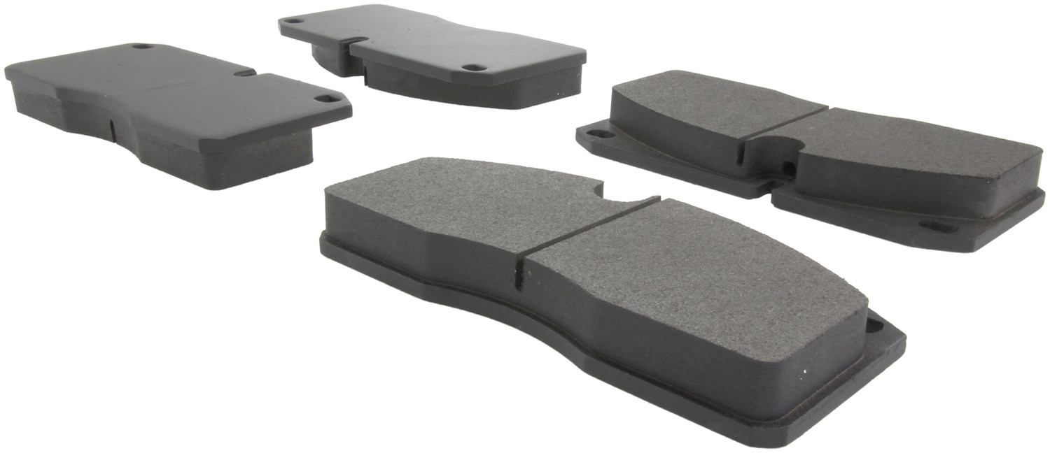 CENTRIC PARTS - Posi-Quiet Metallic Disc Brake Pad w/Shims - CEC 104.10270