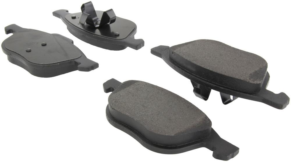 CENTRIC PARTS - Posi-Quiet Metallic Disc Brake Pad w/Shims & Hardware-Preferred (Front) - CEC 104.10440