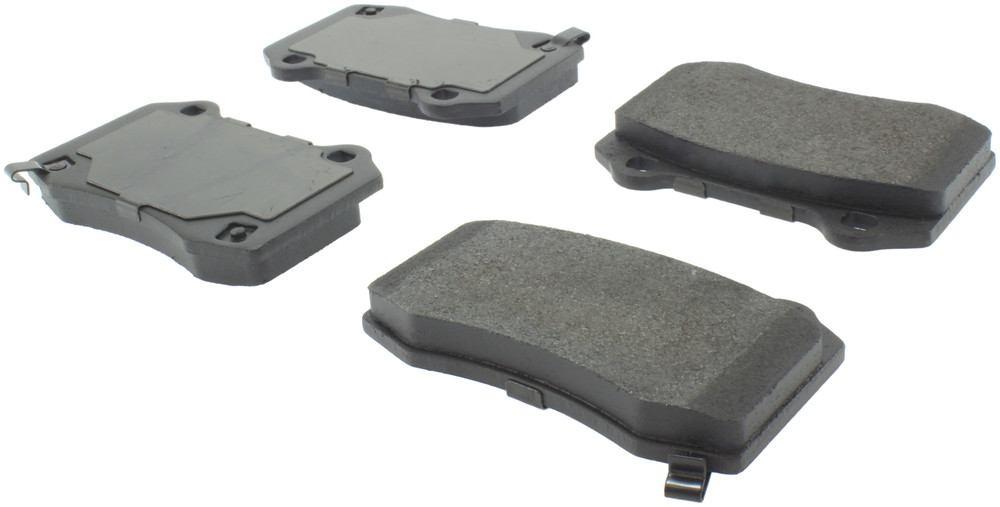 CENTRIC PARTS - Posi-Quiet Metallic Disc Brake Pad w/Shims & Hardware-Preferred (Rear) - CEC 104.10530